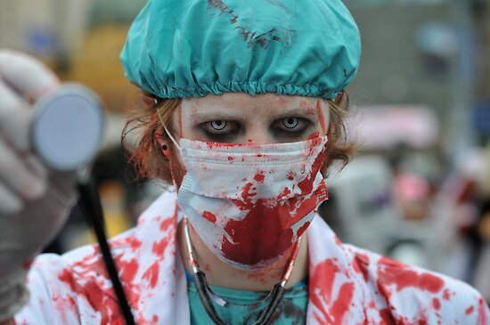 Paging Dr Zombie by trentcsc
