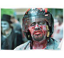 Helmets Save Lives Poster