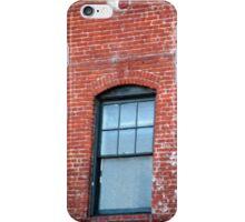 Red Brick Window... iPhone Case/Skin