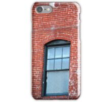 Red Brick Window... iPhone Case/Skin