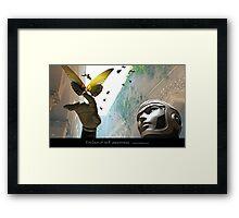 Enclave of Self Awareness Framed Print