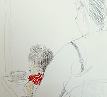 red gingham 1 by donnamalone