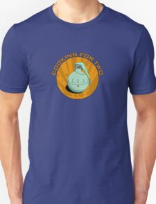 Cooking for two Unisex T-Shirt