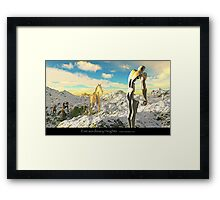 Extraordinary Heights Framed Print