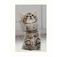 What's up there? Art Print