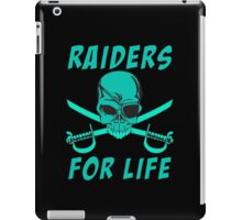 Raiders for life iPad Case/Skin
