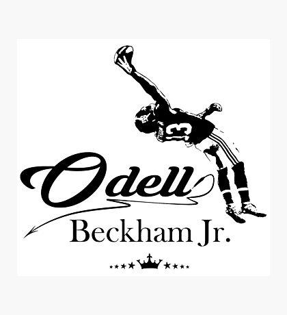 Odell Beckham Jr. Shirt Photographic Print