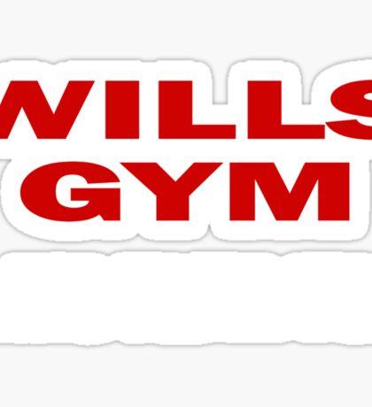 Southpaw - Wills GYM Sticker