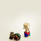 Danbo and Wall-E by MaShusik