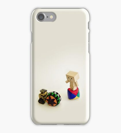 Danbo and Wall-E iPhone Case/Skin