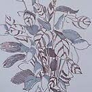 Potted Plant Illustration - Calathea by MikeJory