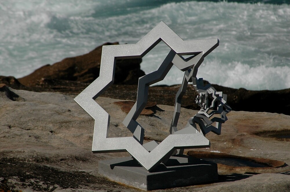 Star Of David @ Sculptures By The Sea by muz2142
