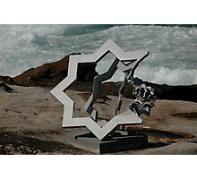 Star Of David @ Sculptures By The Sea Photographic Print