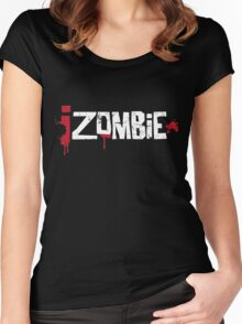 iZombie logo Women's Fitted Scoop T-Shirt