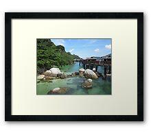 Pangkor Laut, Malaysia Framed Print