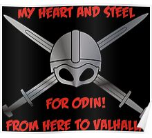 My Heart and Steel for Odin! Poster