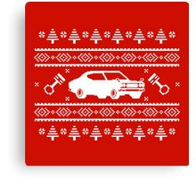 Datsun 610 Ugly Sweater Canvas Print