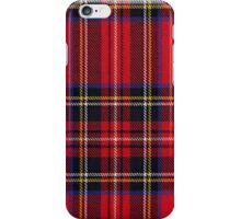 Red Tartan Fabric Iphone Cover iPhone Case/Skin