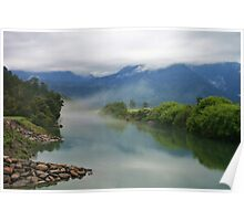 jacobs river  south westland  nz Poster