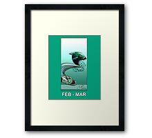 FairyTail Pisces Framed Print