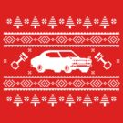 Datsun 610 Ugly Sweater by The World Of Pootermobile
