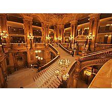 Opera Garnier staircase Photographic Print