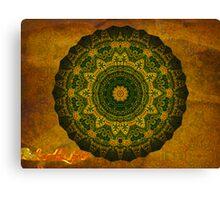 Oasis Mandala (signed) Canvas Print