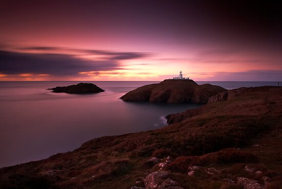 Strumble Head Light by Jeanie