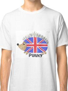 Punky the Hedgehog Union Jack Classic T-Shirt