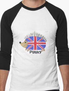 Punky the Hedgehog Union Jack Men's Baseball ¾ T-Shirt