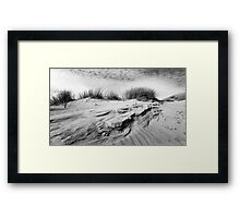 Dunescape 01 - St Annes on Sea Dunes, Fylde, Lancs Framed Print