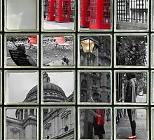 Window on London Sights by DavidFrench