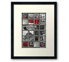 Window on London Sights Framed Print