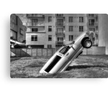 Flying Limo Canvas Print