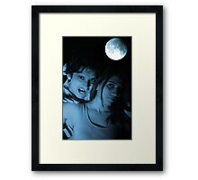 Vampire Night Framed Print