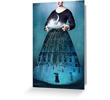 Frau Holle Greeting Card