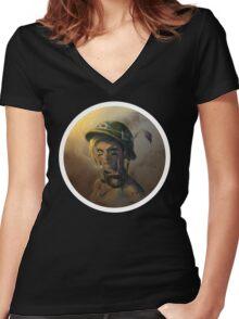 Tank Girl Women's Fitted V-Neck T-Shirt