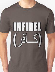 Infidel White Unisex T-Shirt