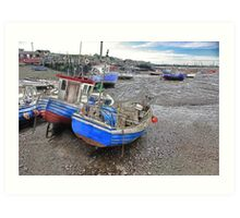 Fishing Fleet - Paddy's Hole Art Print