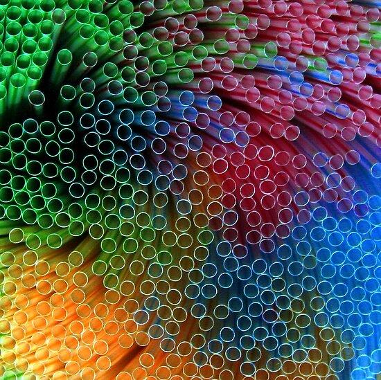 Plastic Rainbow by John Dalkin