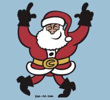 Dancing Santa Claus Kids Tee