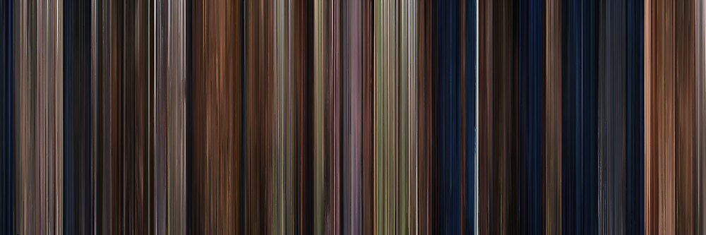 Moviebarcode: Harry Potter and the Philosopher's Stone (2001) by moviebarcode