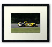 ALMS 2011 LRP Corvette Framed Print