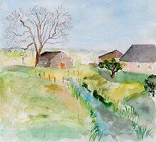 rural landscape by Nataliya Stoyanova