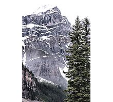 Mount Perren - One of The Ten Peaks - Moraine Lake  Alberta Photographic Print