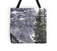 Mount Perren - One of The Ten Peaks - Moraine Lake  Alberta Tote Bag