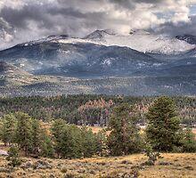 Rocky Mountain Cloudscape by nikongreg