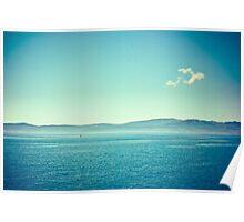 Aegean Sea (colors) Poster