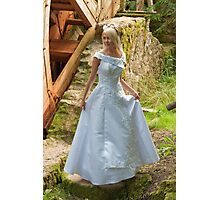 Bride on the mill Photographic Print