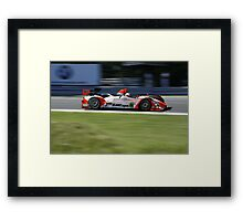 ALMS 2011 LRP Intersport Racing LMPC Framed Print